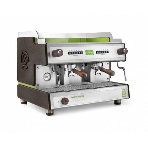 Професионална двугрупова машина за еспресо Sanremo Verde