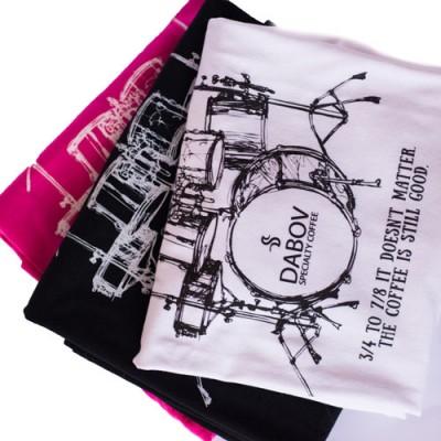 Тениска DABOV Specialty Coffee Rock'n'roll - дамска