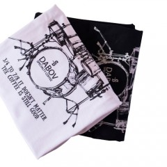 Тениска DABOV Specialty Coffee Rock'n'roll - мъжка