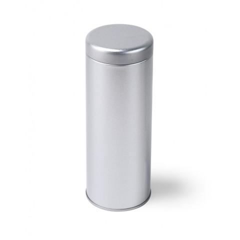 Кутия - цилиндър 100 грама - сребърна