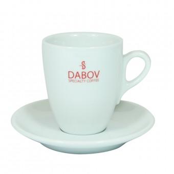 Порцeланова чаша за двойно еспресо Dabov - 130 мл.
