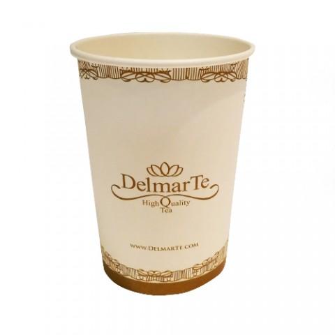 Картонена чаша за чай - 360 мл - 10 бр
