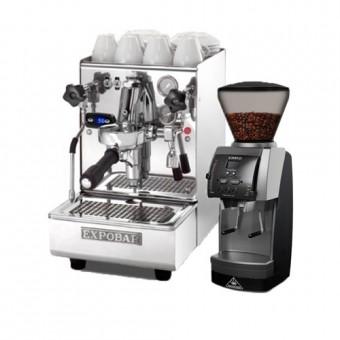"""Еспресо оборудване """"Espresso at Home – Lux"""" С ЕДНОГОДИШНА ДОСТАВКА НА """"КАФЕ НА МЕСЕЦА"""" ПО 1 кг"""