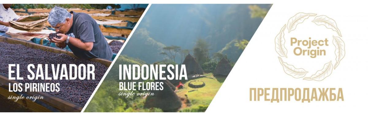 Индонезия Блу Флорес и Ел Салвадор Лос Пиринеос