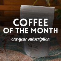 Subscription for Coffee of the month - 12 packages of 200.8 g