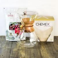 365 дни специално кафе и Chemex