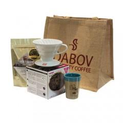 "Подаръчен комплект  ""V60 и кафе Cup Of Excellence """