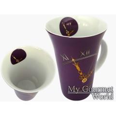 "Порцеланова чаша за чай ""Световно време"" 0.6"