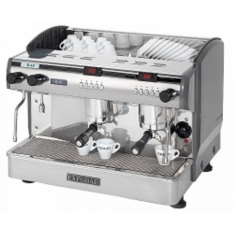 Двугрупова машина за еспресо с три бойлера и дисплей контрол - G10